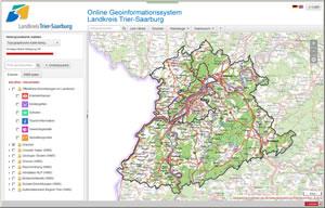 Trier Karte Umgebung.Geoportal Des Landkreis Trier Saarburg